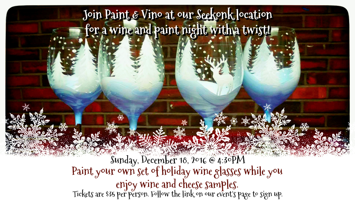 Paint and Vino Event
